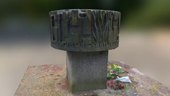 Photogrammetrie - Russisches Denkmal
