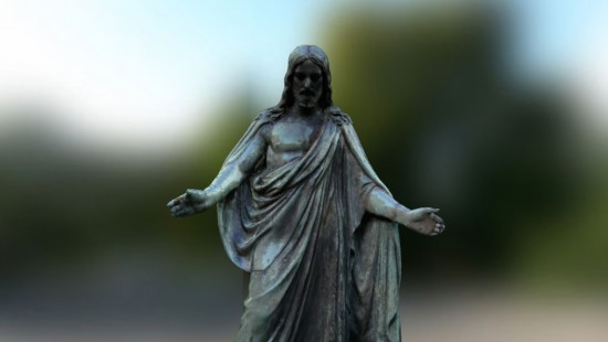 Jesus Statue - Augmented Reality
